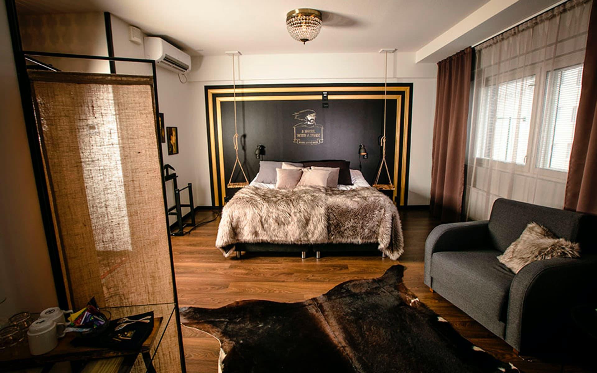 Boutique Hotel Mustaparta | HaparandaTornio